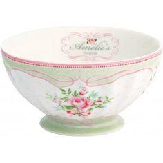 GreenGate Schüssel - French Bowl - Amelie White - XLarge