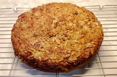 Toscakaka - Swedish Caramel Almond Cake