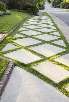 awesome walkway design ideas for front yard landscape 1 Backyard Garden Design, Garden Landscape Design, Patio Design, Landscaping Design, Landscape Designs, Backyard Patio, Diy Patio, Rooftop Patio, Landscaping Software