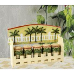 Palm Kitchen Decor Tree E Rack