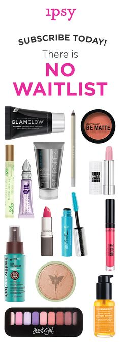 Receive 5 beauty products every month for just $10/month! Makeup bags personalized just for you. ipsy was founded by Michelle Phan. Get great beauty offers. Subscribe now! Michelle Phan, Beauty Secrets, Beauty Hacks, Beauty Products, Free Products, Beauty Tips, Pretty Makeup, Love Makeup, Makeup Looks