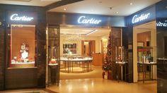 Tienda Cartier en el interior del Corte Inglés de Castellana (Madrid). Diciembre 2016