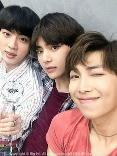 #JIN #V #RM 02.07.18 Fancafe BTS! FAKE LOVE 1st Place! Special thanks to ARMY! © btsfc