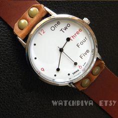 Women Wathces Leather, Leather Women Watch, Leather Watch for Women, Simple Wrist Watch on Etsy, $16.99