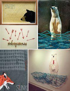 New Mixed Media Work | Submerged - Kathryn Hunter