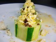 cucumber cups - an excellent summer appetizer