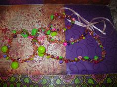 extra long beaded crotched necklace by craftybabydoll on Etsy, $15.00