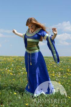 MEDIEVAL DRESS AND CORSET BELT