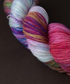 Tricksy Knitter - Merino & Silk Knitting Kit - Having a Party