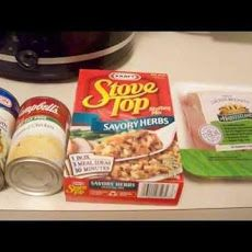 Crock-Pot Chicken and Stuffing (5 Ww Points) Recipe