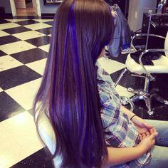 Purple peekaboos ♥