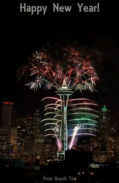 Space Needle, Seattle Wa Go during 4th of July