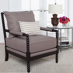 Studio Designs Home Colonnade Spindle Chair | Overstock.com Shopping   The  Best Deals On Living Room Chairs