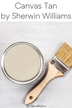 Canvas Tan Paint Color Grey Beige Paint, Beige Paint Colors, Paint Colors For Home, Beige Color, Benjamin Moore Beige, Shaker Beige, Grant Beige, Kilim Beige, Accessible Beige