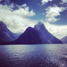Mount Mitre, Milford Sound, New Zealand