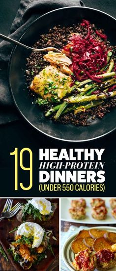 19 High-Protein Dinners Under 550 Calories You'll Actually Want To Eat