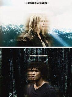 The 100 - Bellamy and Clarke #Bellarke