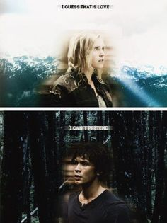 The 100 - Bellamy and Clarke