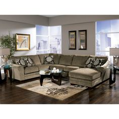 Cosmo - Marble Sectional 36901-SEC, Signature Design By Ashley Furniture - Rooms And Things
