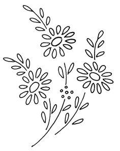 desenho flowers