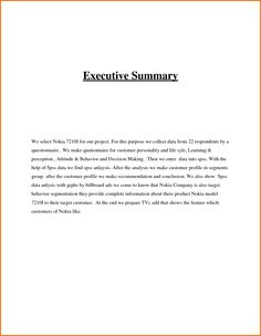 executive summary example kajavic industries marketing