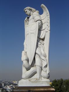 Statue of St. Michael on Tepeyac Hill - Google Search