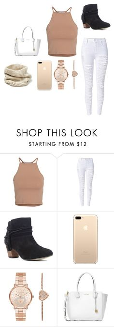 """""""Confident"""" by mrsbieber123-396 ❤ liked on Polyvore featuring NLY Trend, Chelsea Crew, Michael Kors and Lafayette 148 New York"""