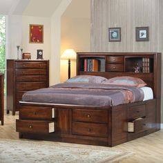 Awesome bed, love all the storage!!
