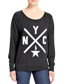 More than memorabilia, this comfy sweatshirt supporting Broadway's in-demand musical, Hamilton, shows that you're not only versed in what's hot now, but also in American history.   Cotton/polyester  