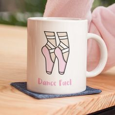 Dance Mug Ballet Teacher Gift Junior Girls School Adult Birthday Mothers Day Gifts for Dance Teachers Shopping Shoes Gym Present Dancewear by Jumpaberry on Etsy Dance Teacher Gifts, Dance Gifts, Dance Accessories, Pointe Shoes, Order Prints, Unique Gifts, Dancer, Handmade Items, Ballet