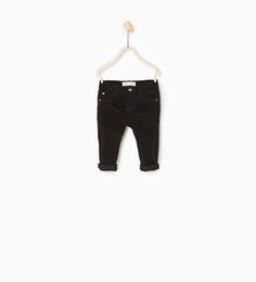 Image 1 of Basic corduroy trousers from Zara
