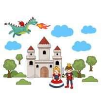 Fairy Tale SVG Cuttable Designs