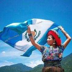 Viva Guatemala!  #guatemala #guayemalaindependenceday.  Photo by Mario A. AJANEL