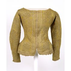 Woman's knitted silk jacket, possibly  English, late 16th century  © CSG CIC