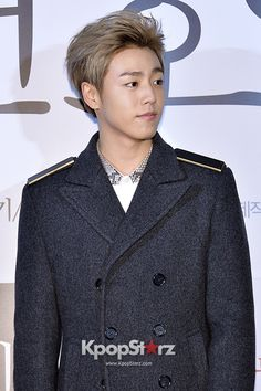 Lee Hyun Woo with blonde hair. He is allways so handsome.