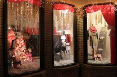 Winter storefront