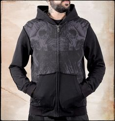 CIMETERY HOODED ZIP