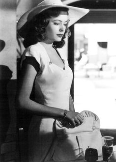 http://www.trendzystreet.com/ - Jane Greer in Out of the Past, 1947.