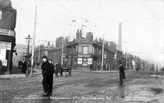 Historic Images of Bolton, Lancashire, UK Bolton Lancashire, Local History, Vintage Pictures, Small Towns, Old Town, Old Photos, The Past, Street View