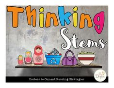 Reading Strategies Thinking Stem Posters