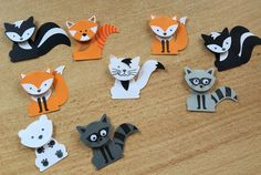 Stampin up Foxy Friends - Fuchs- Katze - Stinktier - Eisbär - roter Panda - Waschbär