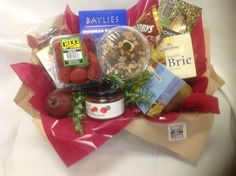 Savoury Nibbles Hamper from Sendabasketsa - Unley. South Australia. www.facebook.com/... All those special occasions. Flower arrangements and Poseys, Fresh and Silk sent seperately or include in your Gift Basket, Gourmet Hamper or Box, 'Mothers' Day' 'Fathers Day' 'New Baby' 'Anniversary' 'Birthday' 'Happy Easter' 'Merry Christmas', 'Congratulations - 'Promotion' 'New Job' 'New Home' and more.