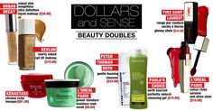 Love these drugstore doubles. Find more money-saving beauty tips at CosmeticsCop.com