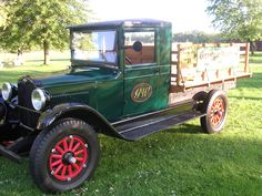 The 1928 one ton Chevy Shop Truck.