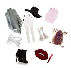 """""""Casual 2"""" by danielamartinez0099 on Polyvore featuring Tommy Hilfiger, Yves Saint Laurent, San Diego Hat Co., Effy Jewelry and Lime Crime"""