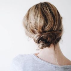 _ Slow summer evenings by the coast in Guernsey. The warm air laden with salt and the scent of wildflowers, while birds lazily glided above… Messy Hairstyles, Pretty Hairstyles, Wedding Hairstyles, Hair Inspo, Hair Inspiration, Good Hair Day, Hair Dos, Gorgeous Hair, Her Hair