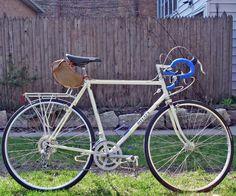 Seat Pouch on Miyata 610 Touring Bicycles, Touring Bike, Cycling, Wheels, Culture, Vintage, Cruiser Bicycle, Bicycling, Biking