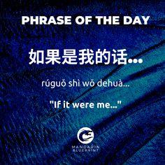 ⠀⠀⠀⠀⠀⠀⠀⠀ 如果是我的话,我不会这样做。 rúguǒ shì wǒ dehuà, wǒ búhuì zhèyàng zuò If it were me, I wouldn't do this.