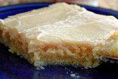 Texas peanut butter sheet cake...I remember my school cafeteria in grade school serving something similar. Always loved it!
