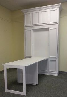 """Awesome """"murphy bed ideas ikea guest rooms"""" info is offered on our web pages. Read more and you wont be sorry you did. Cama Murphy Ikea, Murphy Bed Desk, Murphy Bed Plans, Murphy Furniture, Murphy Bed Office, Murphy Table, Diy Murphy Bed, Furniture Design, Pipe Furniture"""